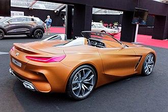 BMW Z4 (G29) - BMW Z4 concept (2017)