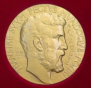 Fields Medal - The obverse of the Fields Medal