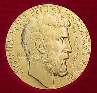 Archimedes - The Fields Medal carries a portrait of Archimedes.