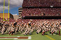 Fightin Aggie Band north end of Kyle Field.jpg