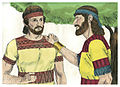 First Book of Samuel Chapter 20-1 (Bible Illustrations by Sweet Media).jpg