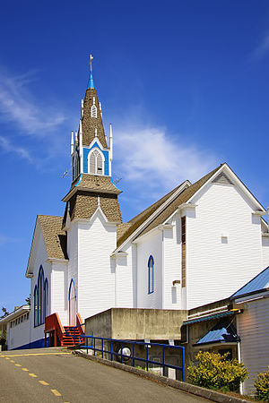 Poulsbo, Washington - First Lutheran Church of Poulsbo