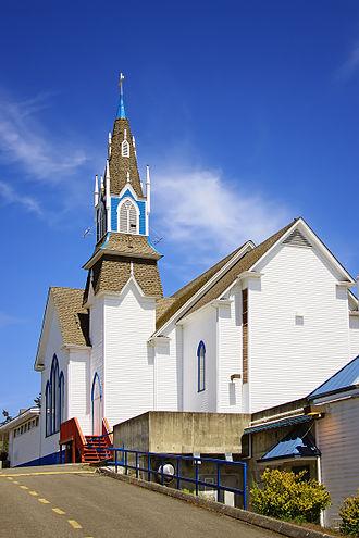 Poulsbo, Washington - First Lutheran Church of Poulsbo