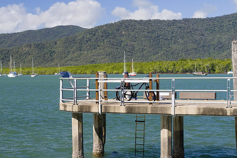 File:Fishing from a Cairns wharf.jpg