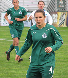 Kendall Fletcher soccer defender for the United States and Canberra United