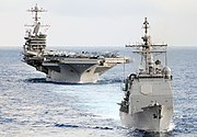 Flickr - Official U.S. Navy Imagery - USS Mobile Bay and USS John C. Stennis