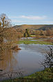Flooded River Stour at Shillingstone and Hambledon Hill 20080112.jpg