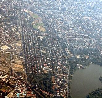 Floreasca - Floreasca, aerial view
