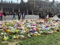 Flowers for the Westminster Attack in Parliament Square, 27 March 2017 (33528668312).jpg