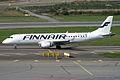 Flybe Nordic (Finnair livery), OH-LKK, Embraer ERJ-190LR (16454777141).jpg