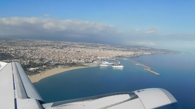 File:Flying - Take off in Catania Sicily.webm