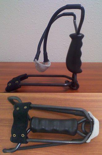 Slingshot - Image: Folding slingshot