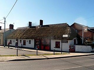 Castlebellingham Village in Leinster, Ireland