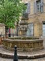 Fontaine - Place des Trois Ormeaux - Aix en Provence - 03.jpg