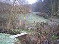 Footbridge and stile near Pepper Pot Farm - geograph.org.uk - 1660205.jpg