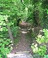 Footpath - Leeds Road, Bramhope - geograph.org.uk - 798382.jpg