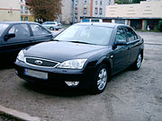 This is a Ford Mondeo, a family car from the United States