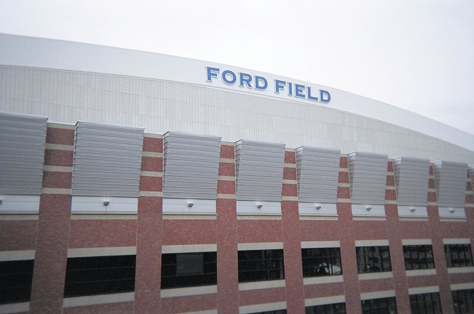Ford Field exterior