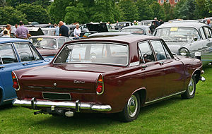 English: Ford Zephyr 6 (213E). Having a body d...