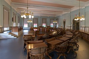 Florida State Capitol - Former Senate chamber in the Old Capitol