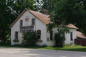 Former blacksmith shop in Dashwood, Ontario.jpg
