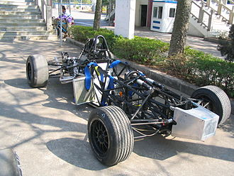 China Formula Grand Prix - Formula Geely chassis