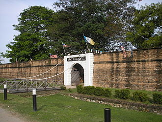 Fort Cornwallis - Image: Fort Cornwallis Penang Dec 2006 005