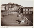Fotografi av Largo del Palazzo Reale (Piazza del Plebiscito). Neapel, Italien - Hallwylska museet - 106837.tif