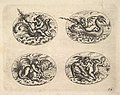 Four Ovals with Genii, plates from the Neue Grotessken Buch MET DP828573.jpg