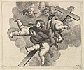 Four cherubs carrying a cross MET DP823149.jpg