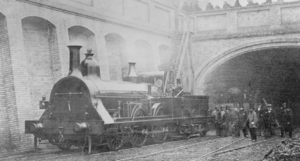 Fowler's Ghost - Image: Fowler's Ghost Locomotive