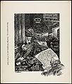 Fra Livet i de smaa Forholde Tegninger af Th. Kittelsen Maaneskinsstemning - Berettiget Beklagelse over en af Byens Gader.jpg