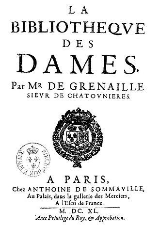 François de Grenaille - La bibliothèque des dames