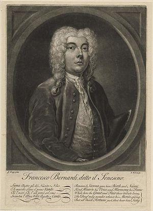 Senesino - Image: Francesco Bernardi detto il Senesino (Fitzwilliam Object no. P.10512 R)