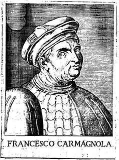 Francesco Bussone da Carmagnola Italian condottiere
