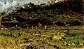 Francesco Filippini, Baite con figure, 1890-1892, olio su tela, 45 x 71 cm, Brescia, collezione privata.jpg