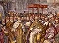 Francesco salviati e giuseppe porta detto il salviatino, Riconciliazione di papa Alessandro III e Federico Barbarossa, 1565-75, 07.jpg