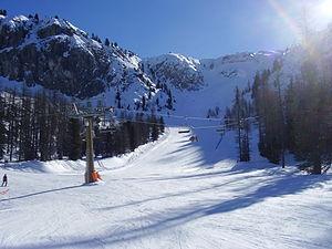 Mount Faloria - Faloria ski area
