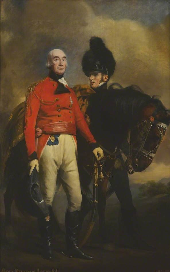 Francis Rawdon-Hastings (1754–1826), 2nd Earl of Moira (later 1st Marquess of Hastings), Governor-General of Bengal and Commander-in-Chief of the Forces in India