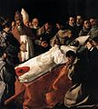 Francisco de Zurbarán - The Lying-in-State of St Bonaventura - WGA26049.jpg