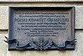 Francuski Hotel, Polish Olympic Committee commemorative plaque, 13 Pijarska street, Old Town, Kraków, Poland.jpg
