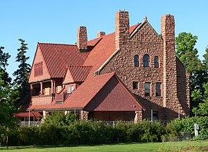 National Register of Historic Places listings in Buffalo County, Nebraska - Image: Frank House (Kearney, Nebraska) from NE 2