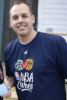 Frank Vogel at NBA Cares charity event February 14 2014 cropped.jpg