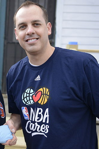 Indiana Pacers - Frank Vogel was the Pacers' head coach from 2011 to 2016