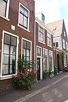 frankestraat met oude ingang doopsgezinde kerk rm19086