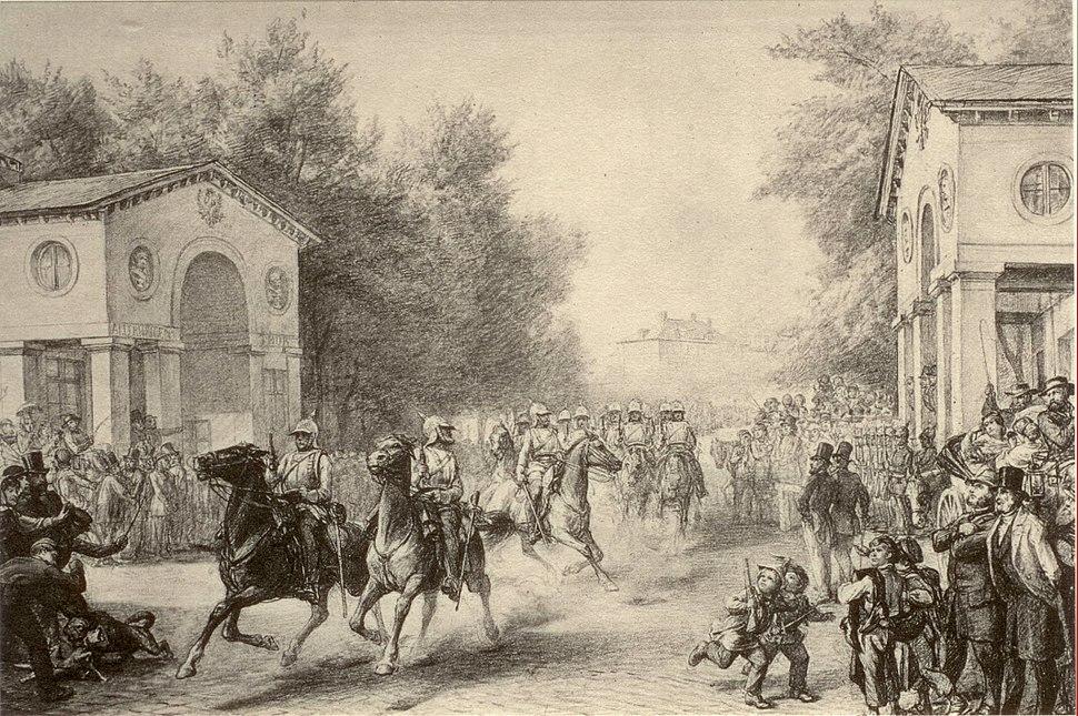 Frankfurt am Main Preußische Okkupation 1866