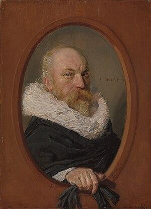 Portrait of Anna van der Aar - Image: Frans Hals Petrus Scriverius