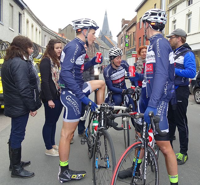 Triptyque des Monts et Châteaux 2015 Depicted team: KSV Deerlijk-Gaverzicht