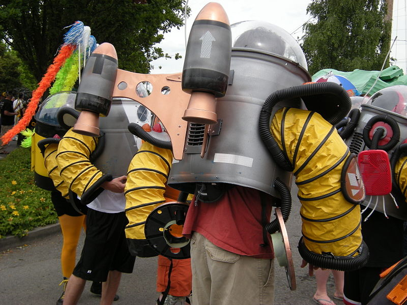 File:Fremont Solstice Parade 2008 - rocket suits 02.jpg