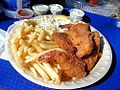 French fries shrimp crab cakes fish tartar.jpg